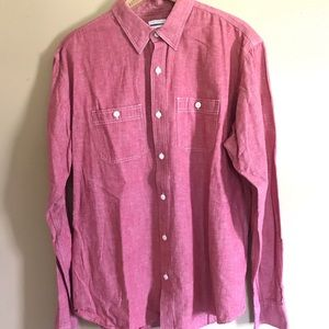 Large slim fit Old Navy button down